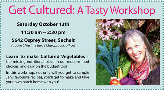 Get Cultured! A Tasty Workshop …