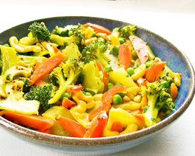 Sunshine Coconut Curry Stir Fry