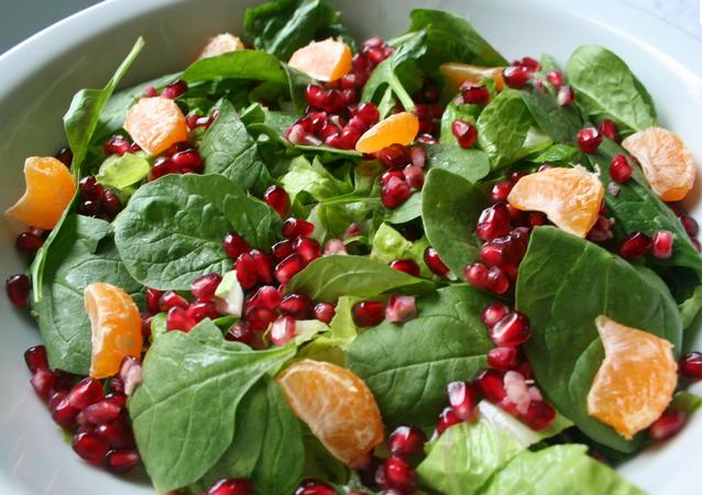 12 Days of Christmas-Day 5: Celebration Salad