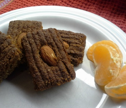 Speculaas on a plate