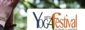 Jan at the Sunshine Coast Yoga Festival