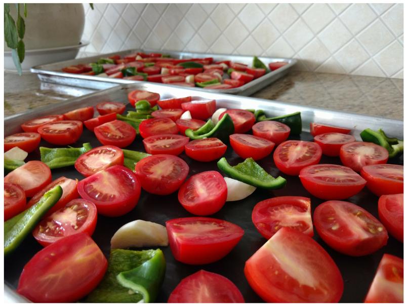 Happy Harvest Tomatoes