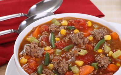 Hearty Harvest Soup AKA Hamburger Soup